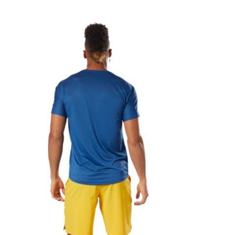 Activechill Graphic Move 2 teknisk t-skjorte herre BUNBLU