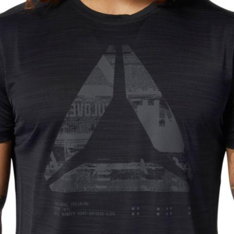 Activechill Graphic Move teknisk t-skjorte herre BLACK