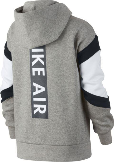 Air hettejakke junior 063-DK GREY HEA