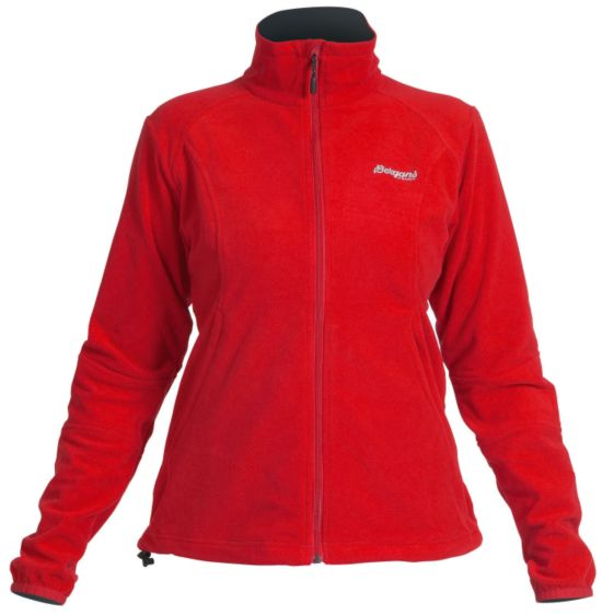 Park City Fleecejakke Dame RED