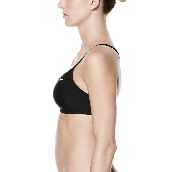 Solid Racerback Top Bikinioverdel Dame 001-BLACK