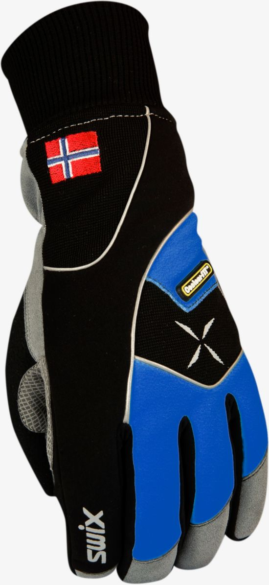 Star Xc 100 Gloves Herre ROYAL BLUE/BLAC