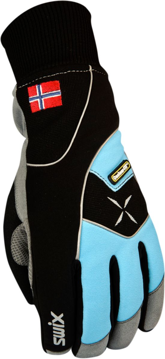 Star Xc 100 Gloves Dame BLUE OCEAN/BLAC