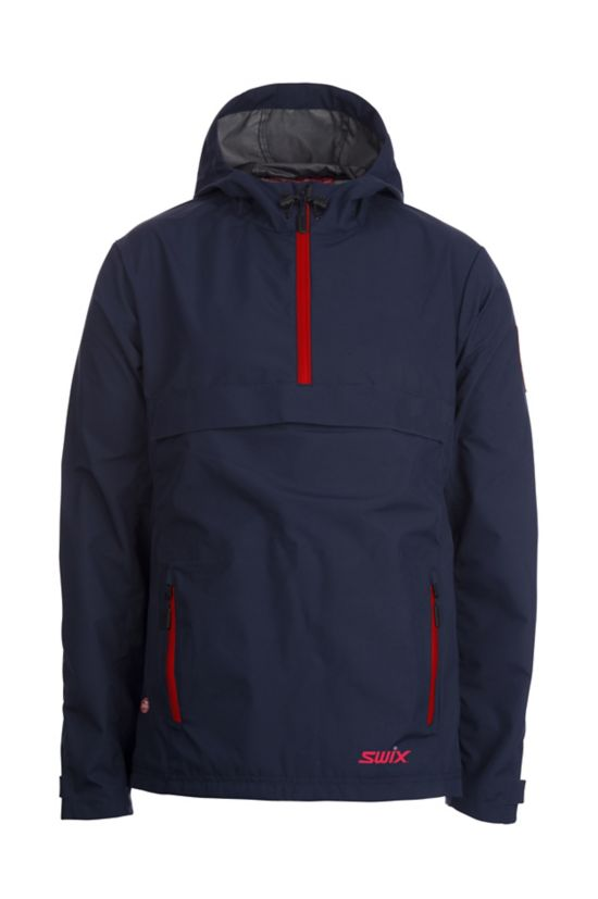 Windstopper Anorakk Herre NEW NAVY/ RED