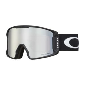 Line Miner Prizm Matte Black White goggles
