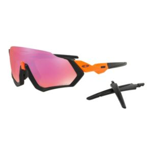 Flight Jacket Prizm™ Trail - Matte Black Neon Orange