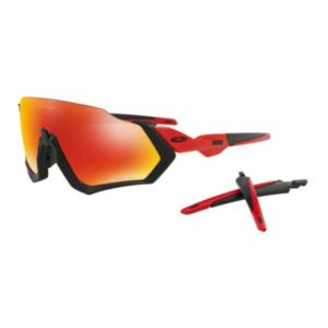 Flight Jacket Prizm™ Ruby Polarized - Matte Black Redline
