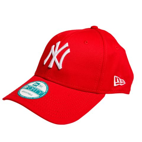 9Forty New York Yankees caps SCARLET