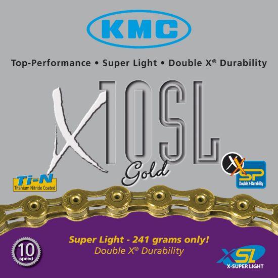 Kmc X10Sl Gold 9/10 Delt