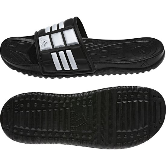 Mungo Badeslippers BLACK1/WHT/METS
