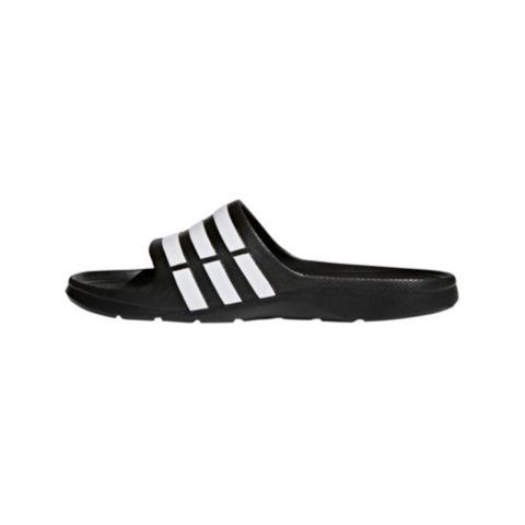 Duramo Slide Badeslippers  CBLACK/FTWWHT/C