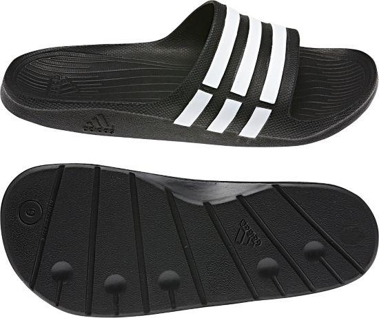 Duramo Slide Badeslippers  BLACK1/WHT