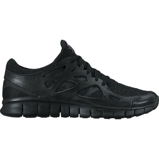 Free Run+ 2 Fritidssko Dame BLACK/BLACK