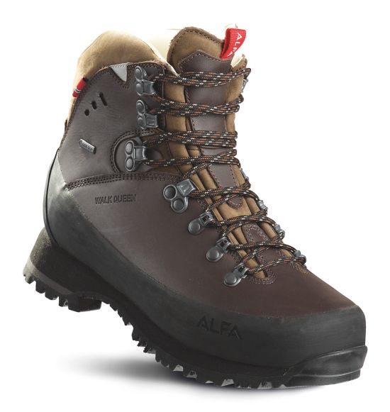 Walk Queen Fjellstøvel Dame CLASSIC BROWN