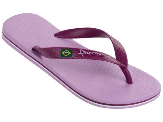Classica Brasil Flip-Flops Dame LILAC/PURPLE