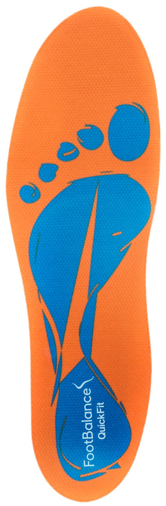 Narrow Pre-Mold.Insole Low Arch BLUE