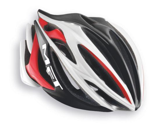Stradavarius HES Sykkelhjelm WHITE/BLACK/RED