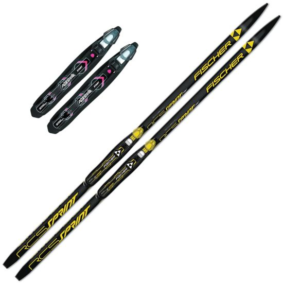 Sprint Crown m/Rottefella Start Black Binding