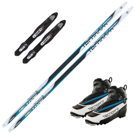 Active 6 Dual Grip m/ Rottefella Touring Auto Binding Og Ultra Pro Skistøvel