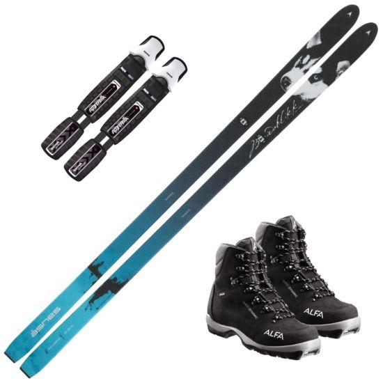 Breidablikk Jaktski m/Rottefella BC Manual Binding Og Alfa Quest Dynamic Fjellskistøvel