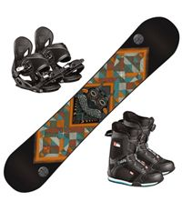 Snowboard Fastplant Grom m/Head Youth Binding og H