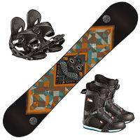 Snowboard Fastplant Grom m/Head Youth Binding og H
