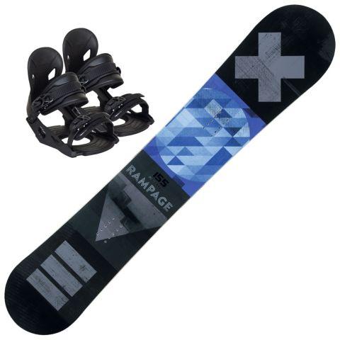 Rampage snowboard m/ binding