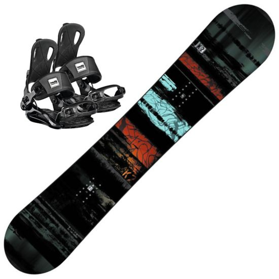 Snowboard Raygun m/Head RX one Black Binding