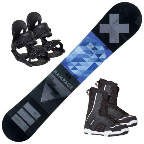 Rampage snowboardpakke