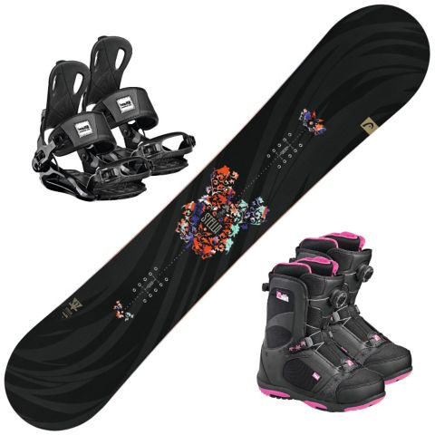 Stella snowboard m/ binding