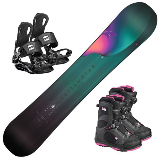Snowboard Bright Lite m/Head RX one Black og Head