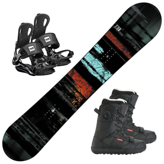 Snowboard Raygun m/Lien FS Binding og Darko Støvel