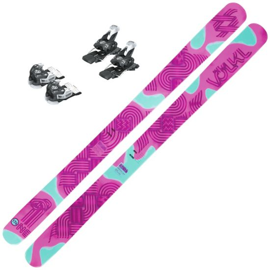 Vølkl One Pink m/Head Attack 13 Brake 95 Binding