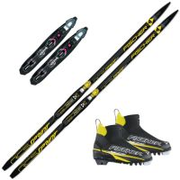 Sprint Crown m/Rottefella Start Black Binding Og Sprint Skistøvel