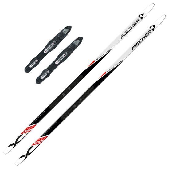 Sporty Smørefri Skipakke Voksen Ski + Binding