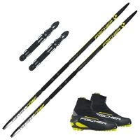 Twin Skin Comp Pakke med Fischer RC 5 Classic støvel og Rottefella Performance Classic binding