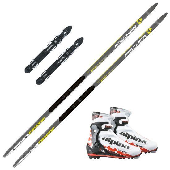 CR Skating pakke med Alpina TSK støvel og Rottefella Performance Skate Binding