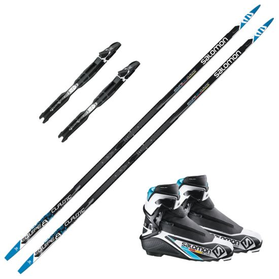 Salomon Equipe 8X Skate pakke med Salomon RC Carbon Skate støvel og Salomon Prolink Pro Skate Binding