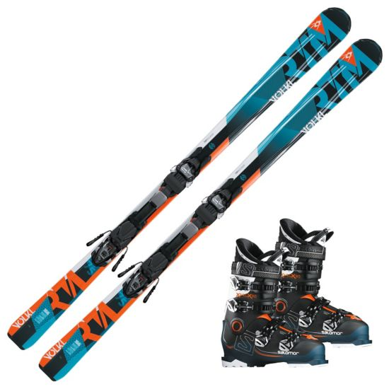 RTM75 alpinpakke med Salomon X Pro X90 Alpinstøvel og Marker binding