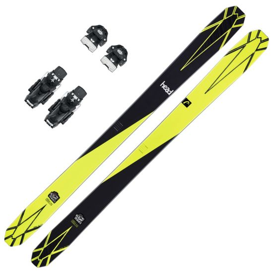 Cyclic Freeride Pakke med Head Attack Binding