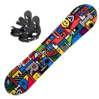 Explicit Junior Snowboardpakke Med Binding