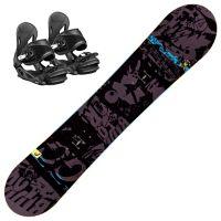 Evil Youth Snowboardpakke med Binding