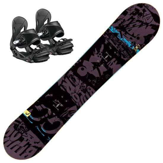 Evil Youth Snowboardpakke med Binding