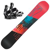 Bright Lite Dame Snowboardpakke med Head RX One Binding