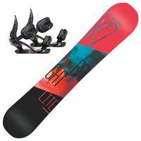 Bright Lite Dame Snowboardpakke med K2 Charm Binding