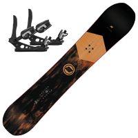 Turbo Dream Snowboardpakke med Lien AT Binding