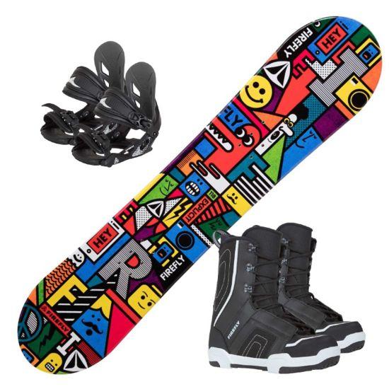 Explicit Junior Snowboardpakke Med støvel og Binding