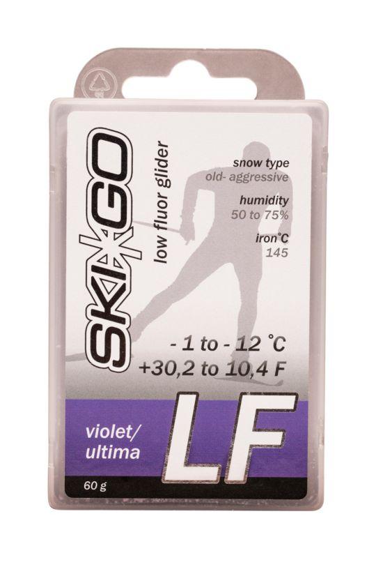 Skigo LF Lavfluor Glider Fiolett
