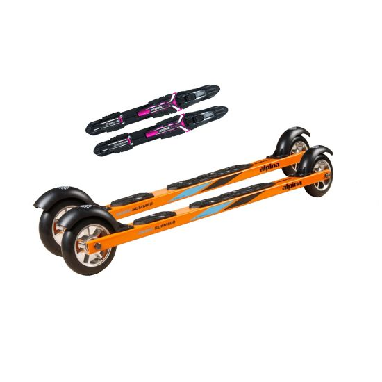Skate Rulleski M/ Binding