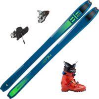 Tour 88 Skipakke Alpinski Med Binding + Støvel